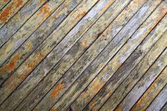 Weathered wood. En door Royalty Free Stock Photography