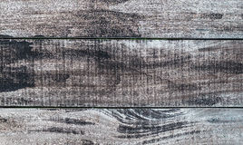 Weathered Wood Background in Horizontal Pattern, Natural Color. Royalty Free Stock Photos