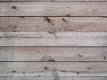 Weathered Wood Boards. A closeup of plain weathered wood boards Royalty Free Stock Images