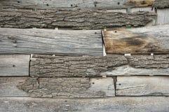Weathered wood fence Stock Photos