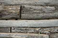 Weathered wood fence Royalty Free Stock Photography