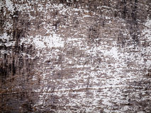 Weathered wood with flaking paint Royalty Free Stock Image