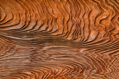 Weathered Wood Grain Panel Textured Background Stock Photo
