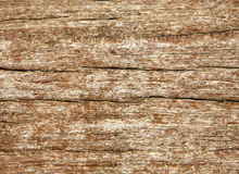 Weathered wood grain texture. Stock Image