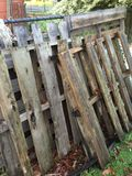 Weathered wood pallets Royalty Free Stock Images