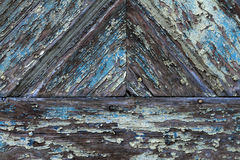 Weathered wood with patina. In detail as a background Stock Photos