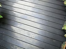 Weathered wood plank as floor tile. Weathered wood plank floor tile grunge old aged walk way royalty free stock photo