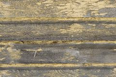 Weathered Wood Ship Lap Stock Photography