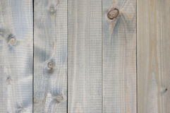 Weathered wood texture. Varicolored cheap knotted weathered wood texture as background Royalty Free Stock Photo