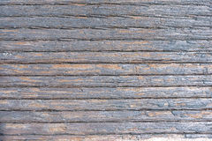 Weathered wood textured background Stock Images