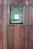 Weathered Wood Wall and Window Royalty Free Stock Photography