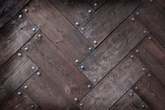 Weathered wooden background Royalty Free Stock Photos