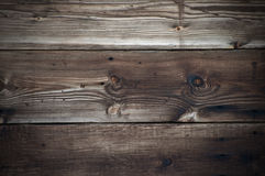 Weathered wooden background with worn texture Royalty Free Stock Image