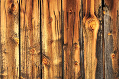 Weathered wooden barn wood. Royalty Free Stock Image