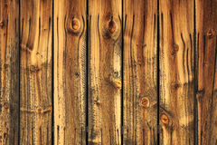 Weathered wooden barn wood. Stock Photos