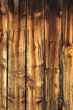 Weathered wooden barn wood. Stock Image