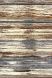 Weathered wooden blinds Royalty Free Stock Images
