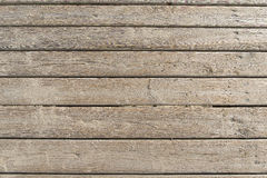 Weathered Wooden Boardwalk on Sand Royalty Free Stock Photo
