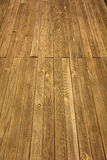 Weathered wooden boardwalk Royalty Free Stock Photos