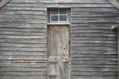 Weathered Wooden Cladding Royalty Free Stock Photo