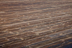 Weathered wooden deck Royalty Free Stock Photography
