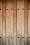 Weathered wooden door texture Stock Image