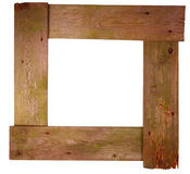 Weathered wooden frame Royalty Free Stock Photos