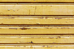 Weathered wooden house wall. Royalty Free Stock Images