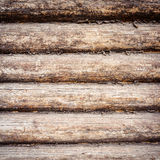 Weathered wooden logs Stock Photos