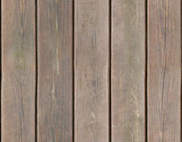 Weathered wooden plank background seamlessly tileable Royalty Free Stock Photo