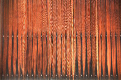 Weathered wooden plank wall. Background Royalty Free Stock Photo
