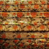 Weathered wooden planks. Abstract backdrop for illustration Royalty Free Stock Image