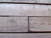 The weathered wooden Stock Image