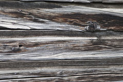 Weathered wooden siding Royalty Free Stock Images
