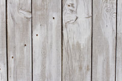 Weathered Wooden Texture. Closeup of weathered wooden boards, originally painted with white colour royalty free stock photo