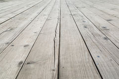 Weathered wooden texture of deck. stock photos
