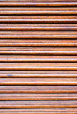 Weathered wooden ventilation louvers Royalty Free Stock Image