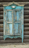 Weathered wooden window Royalty Free Stock Photos
