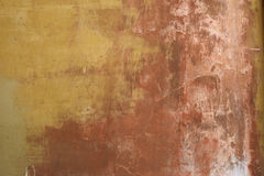 Weathered and worn stucco wall Stock Photography