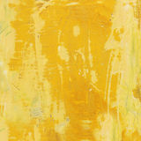 Weathered yellow wooden background Stock Photos