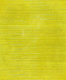 Weathered Yellow Wooden Slatted Background Royalty Free Stock Photography