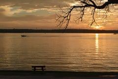 湖Weatherford 库存图片