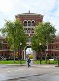 Weatherford Hall, государственный университет Орегона, Corvallis, Орегон Стоковое фото RF