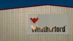 Weatherford logo Fotografia Royalty Free