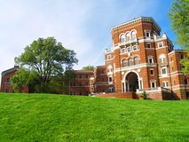 Weatherford Wide Angle. Historic Weatherford Hall on the Oregon State University campus Royalty Free Stock Image
