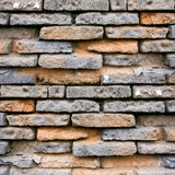 Weathering Brick Wall Background Stock Photography