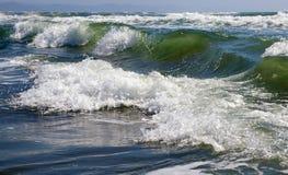 Weatherring une onde de tempête. Photo libre de droits