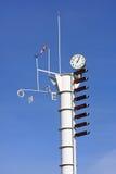 Weatherstation imagens de stock