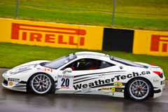 Weathertech Ferrari racing at Montreal Grand prix Stock Photography