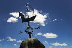 Weathervane łódź Zdjęcie Royalty Free